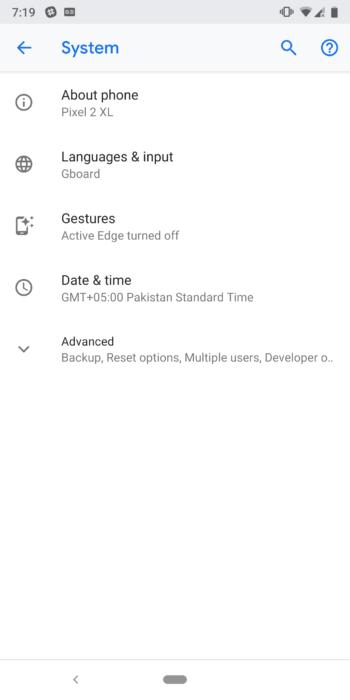 Så här aktiverar du gestnavigering på Android 9.0 Pie 12