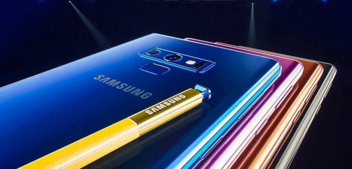 Samsung Galaxy Note 9: Tekniska specifikationer 11