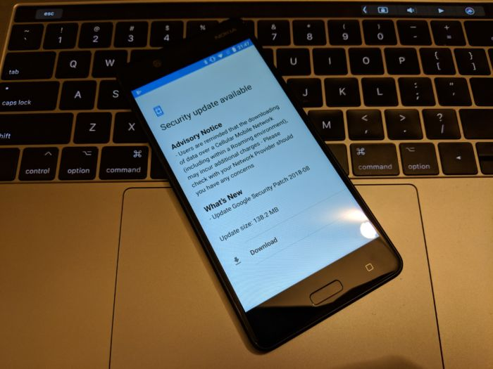 Ladda ner Nokia 5 augusti 2018 OTA-systemuppdatering