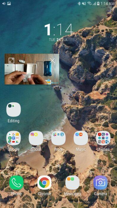 Titta på YouTube-videor i bild-i-bild-läge, Android Oreo