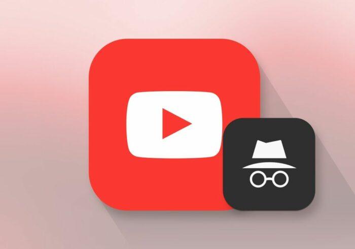 Inkognitoläge i YouTube-appen