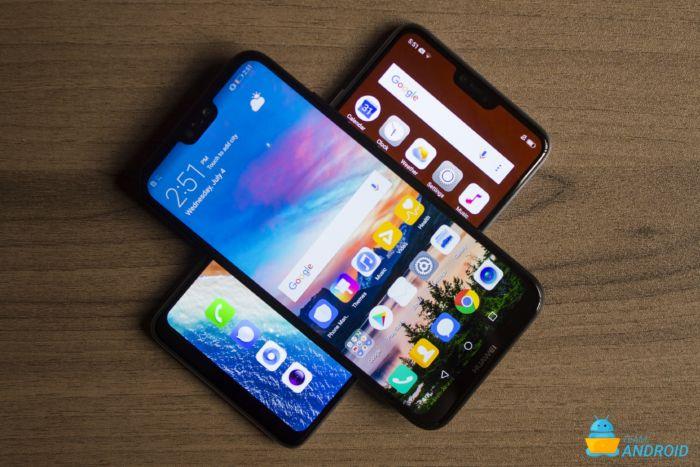 Huawei P20 Lite vs Oppo F7 - Fullständig jämförelse 41