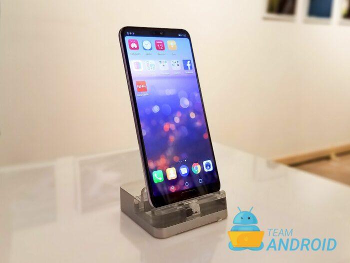 Ändra skärmupplösning på Huawei P20 Pro