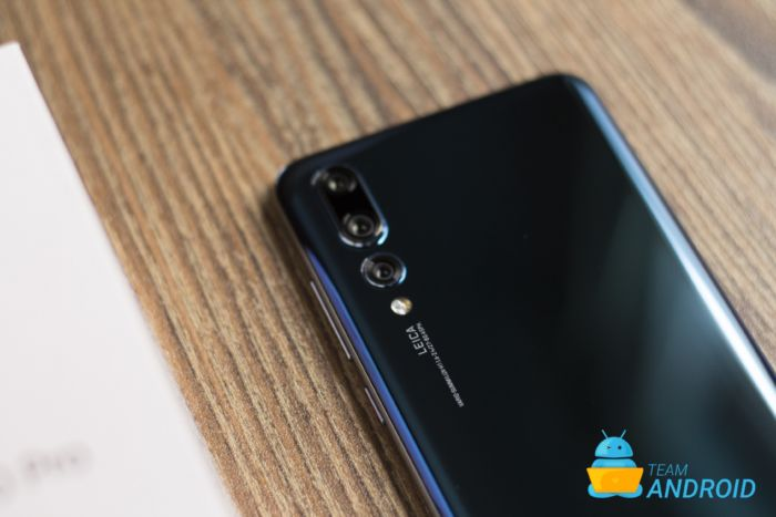 Ta 40MP-foton på Huawei P20 Pro