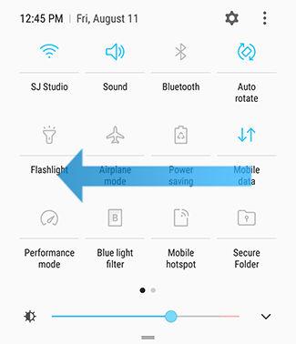 Slå på skärmspegling på Samsung Galaxy S8 / S8 Plus med Smart View 12