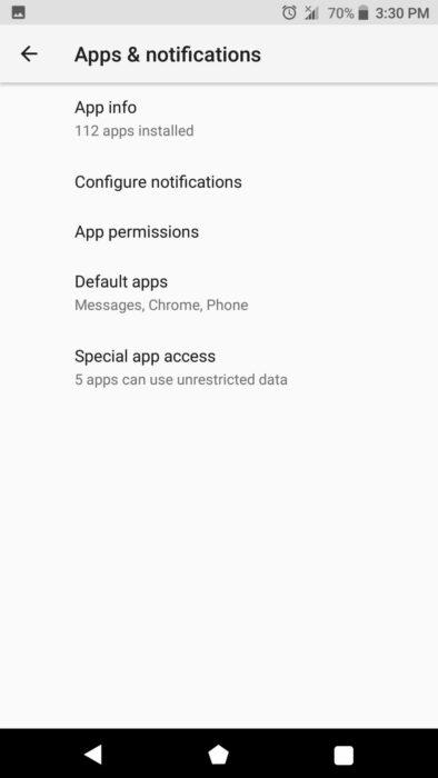 """Hur man inaktiverar / återkallar """"Installera okända appar"""" Tillstånd på Android Oreo / Pie / Android 10 13"""
