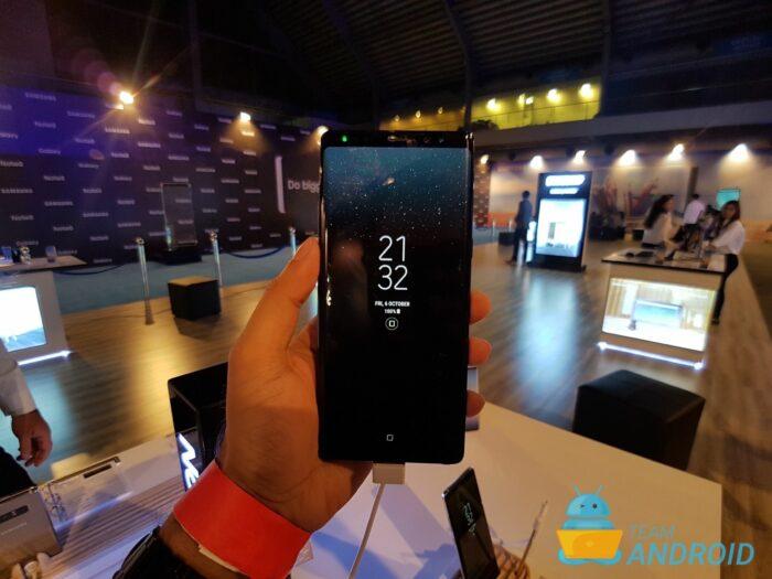 Åtgärda problem med laddning / batteridränering i Galaxy Note 8