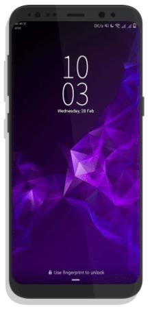 Ladda ner Galaxy S9-tema