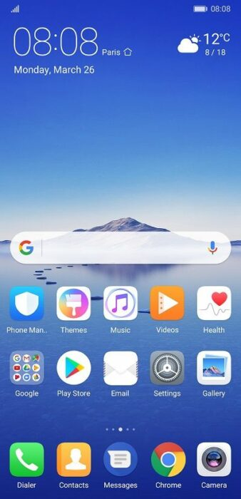Paradise - Ladda ner Huawei P20-teman
