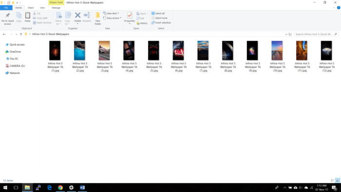 Ladda ner Infinix Smart och Hot 5 HD-bakgrundsbilder