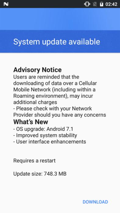 Hämta Nokia 3 Android 7.1.1 Nougat