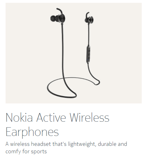 Nokia 8 officiella tillbehör: Flipfodral i läder, trådlösa hörlurar 12
