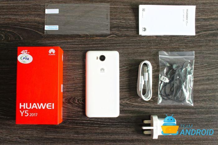Huawei Y5 2017: Unboxing och första intryck 11