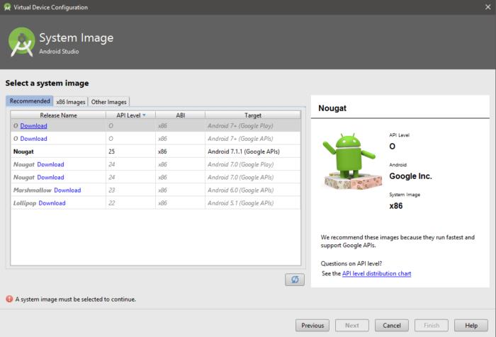 HUR: Installera Android O Developer Preview Emulator på Android Studio 2.4 13