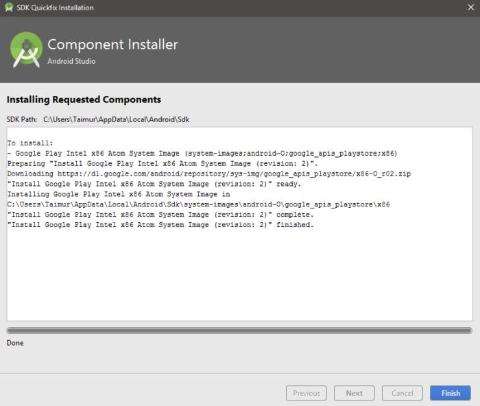 HUR: Installera Android O Developer Preview Emulator på Android Studio 2.4 15