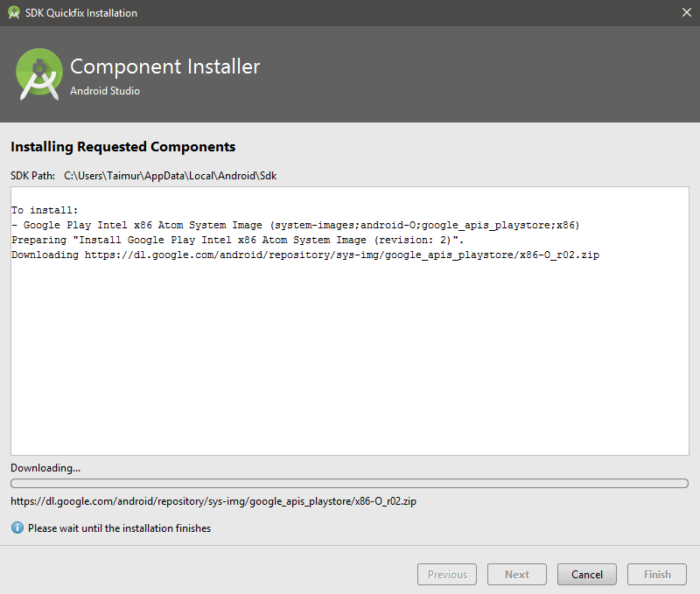 HUR: Installera Android O Developer Preview Emulator på Android Studio 2.4 14