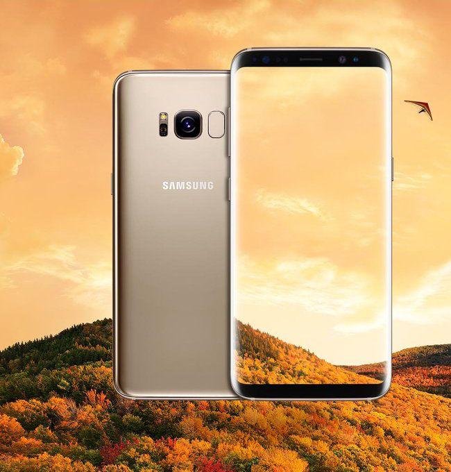 Guldsand, Galaxy S8
