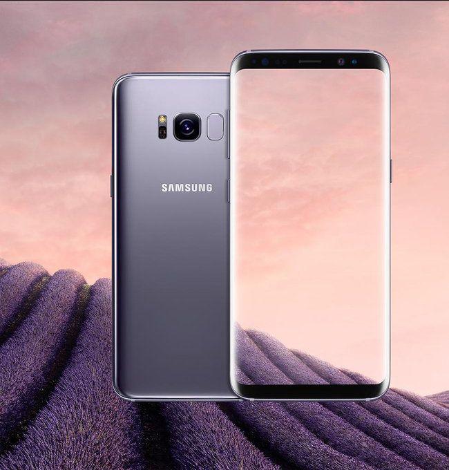 Orchid Grey - Samsung Galaxy S8