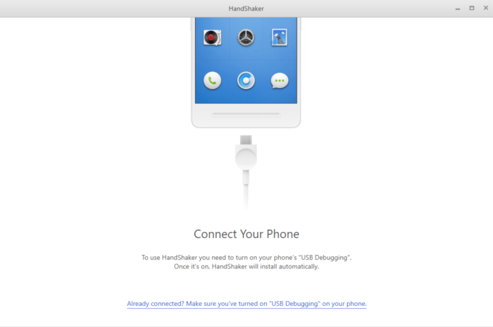 HandShaker: Android Files Manager-app för Windows 11