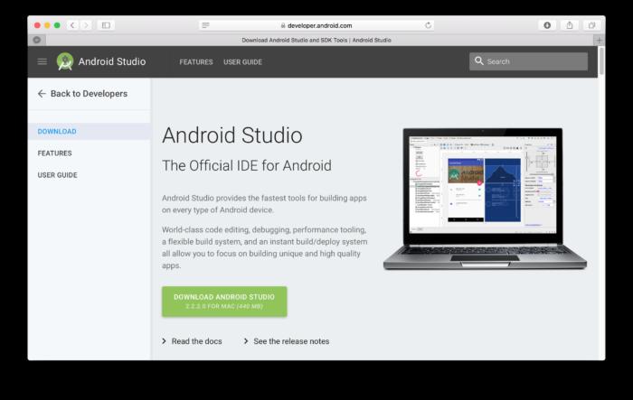 android-studio-nedladdning-mac