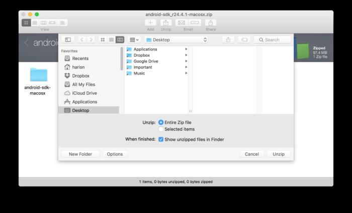 ADB, Fastboot, Android Tools på Mac