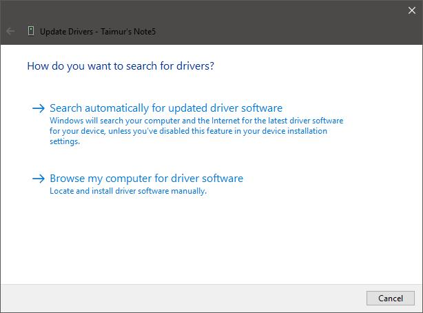 Så här installerar du Fastboot, ADB och Google USB-drivrutiner på Windows 10 16