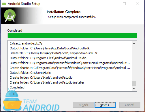 Installera Android Studio - installationsguiden 7