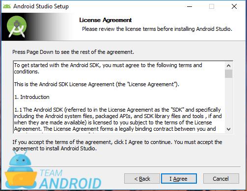 Installera Android Studio - installationsguiden 3