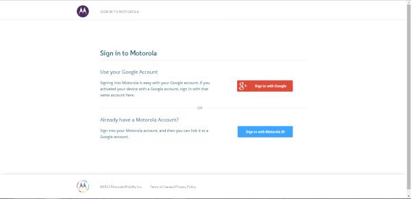 Motorola / Moto Phones - Lås upp bootloader