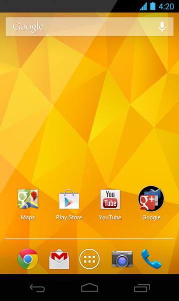 Android 4.2 Skärmbilder 15