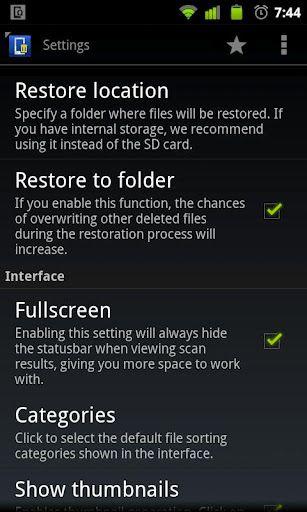 Så här återställer du borttagna filer från SD-kort, intern lagring på Android-enheter 11