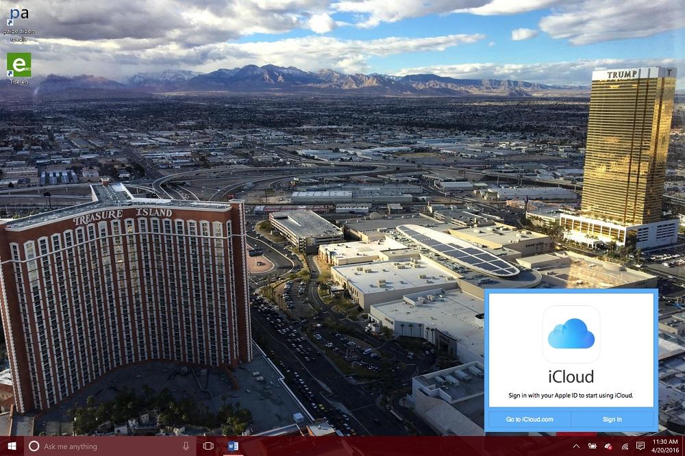 iCloud för Windows 3