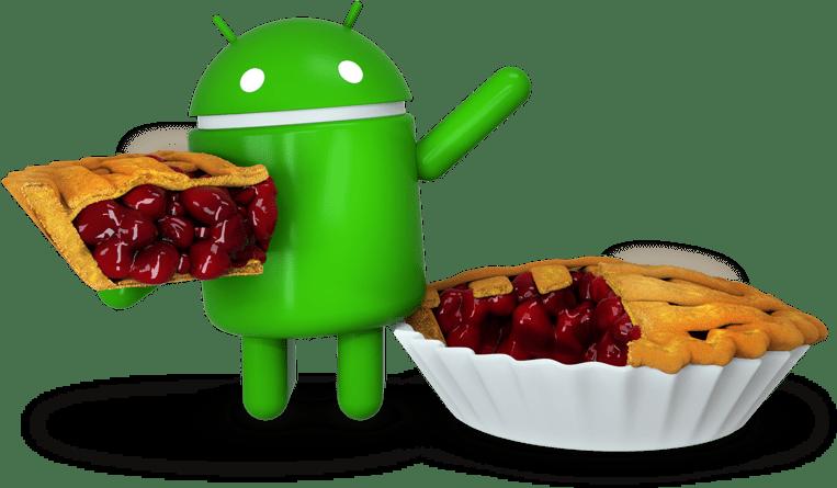 Utgivningsdatum för Android 9.0 Pie för enheter