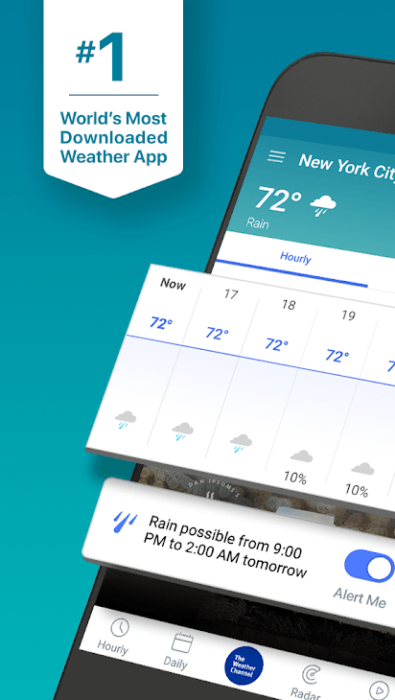 Bästa väderappar att installera på Android 12