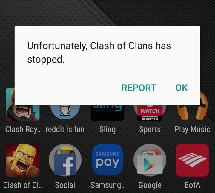 Clash-crash