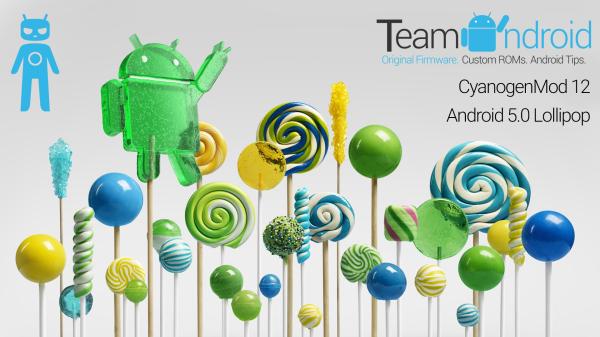Android 5.0 Lollipop CM12