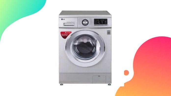 LG tvättmaskin i Indien
