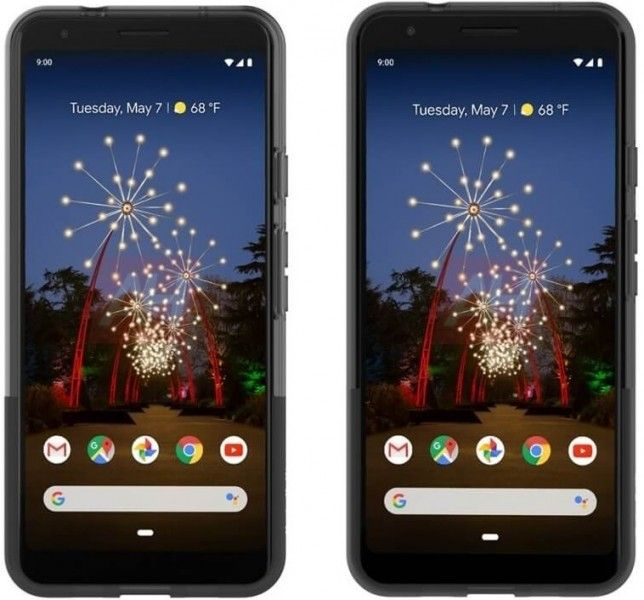 Google Pixel 3a återges