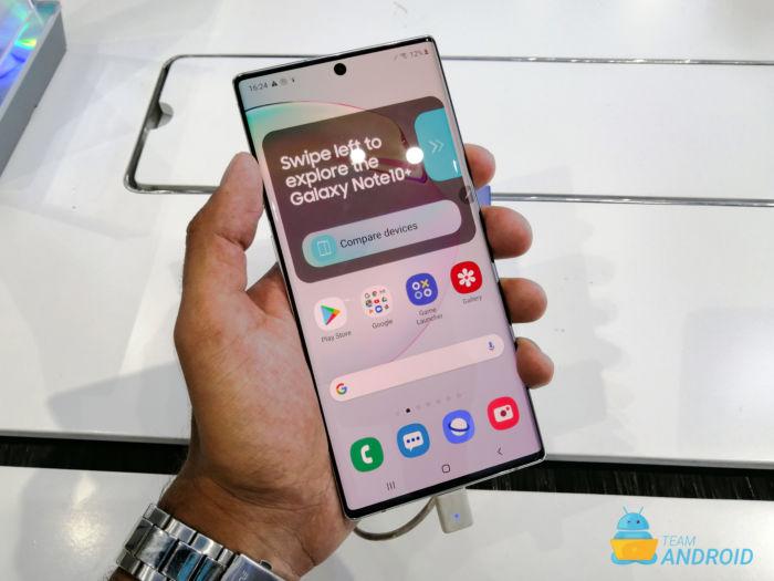 Samsung Galaxy Note 10, Remap Power Key