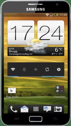 HTC Sense 4.0 ROM på Samsung Galaxy Note med Android 4.0.3 ICS 10