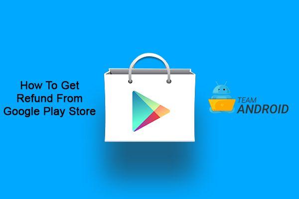 Få återbetalning från köp av Google Play Butik