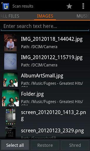 Så här återställer du borttagna filer från SD-kort, intern lagring på Android-enheter 10
