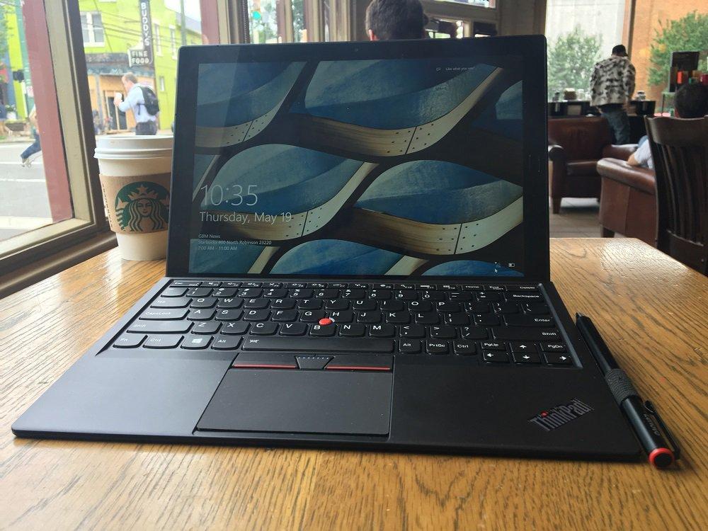Lenovo ThinkPad X1-surfplatta.