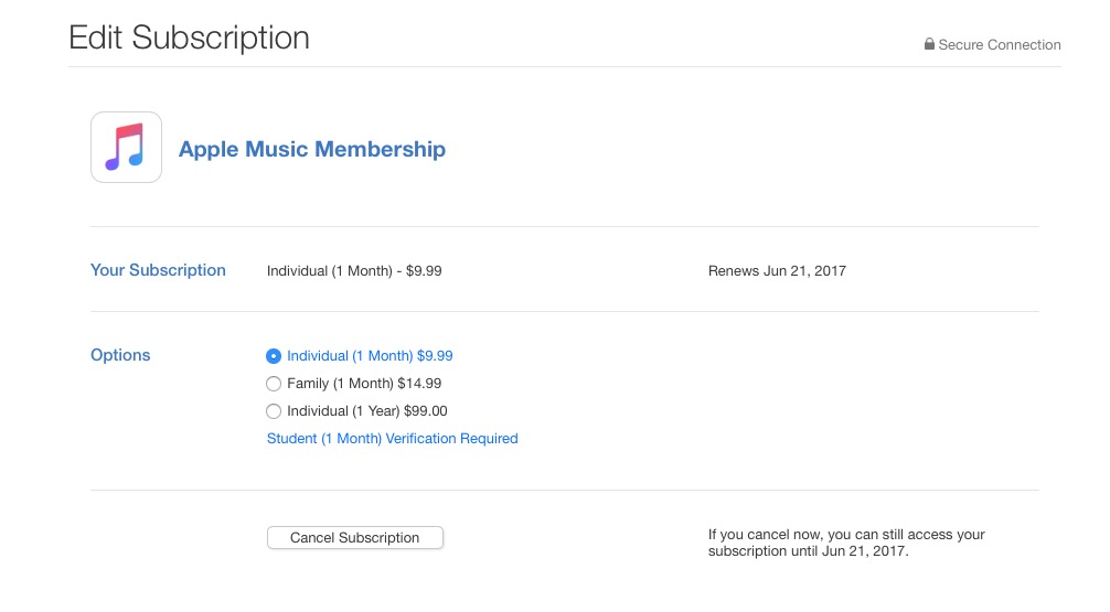 Hur sparar jag $ 20 på Apple Music.