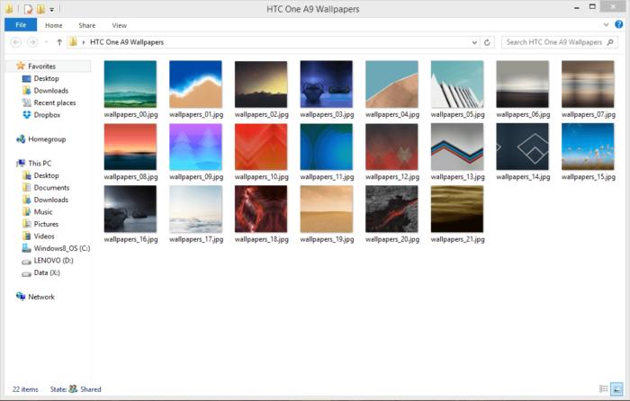 HTC One A9 Bakgrundsbilder