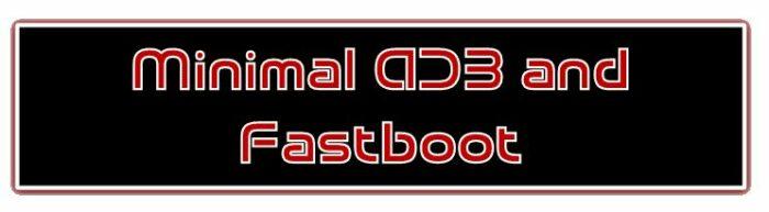 Minimal ADB och Fastboot-logotyp