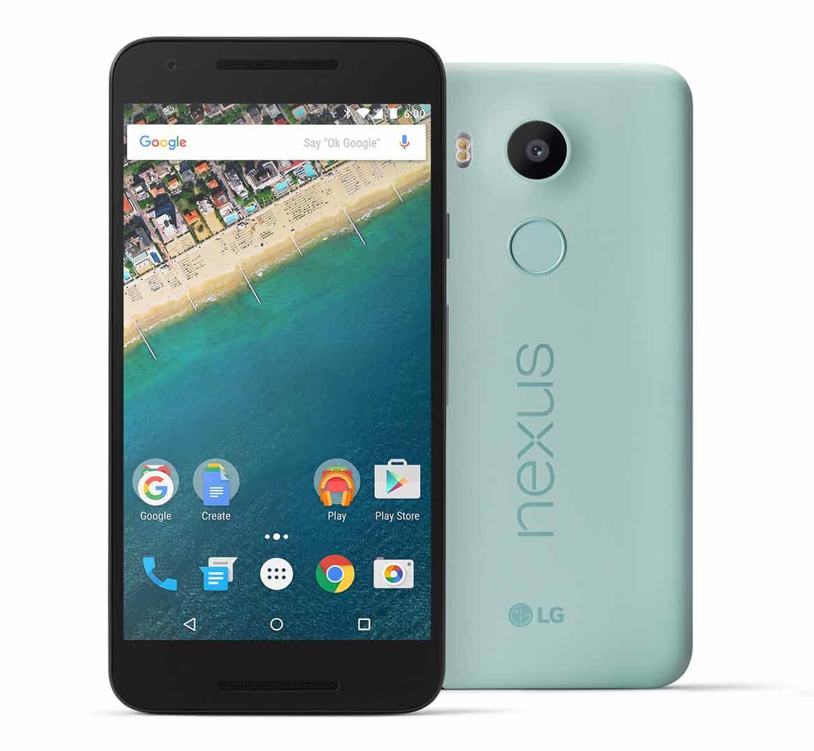 Nexus 5X-ROM-skivor