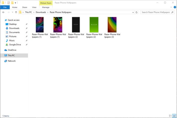 Ladda ner Razer Phone Wallpapers 13