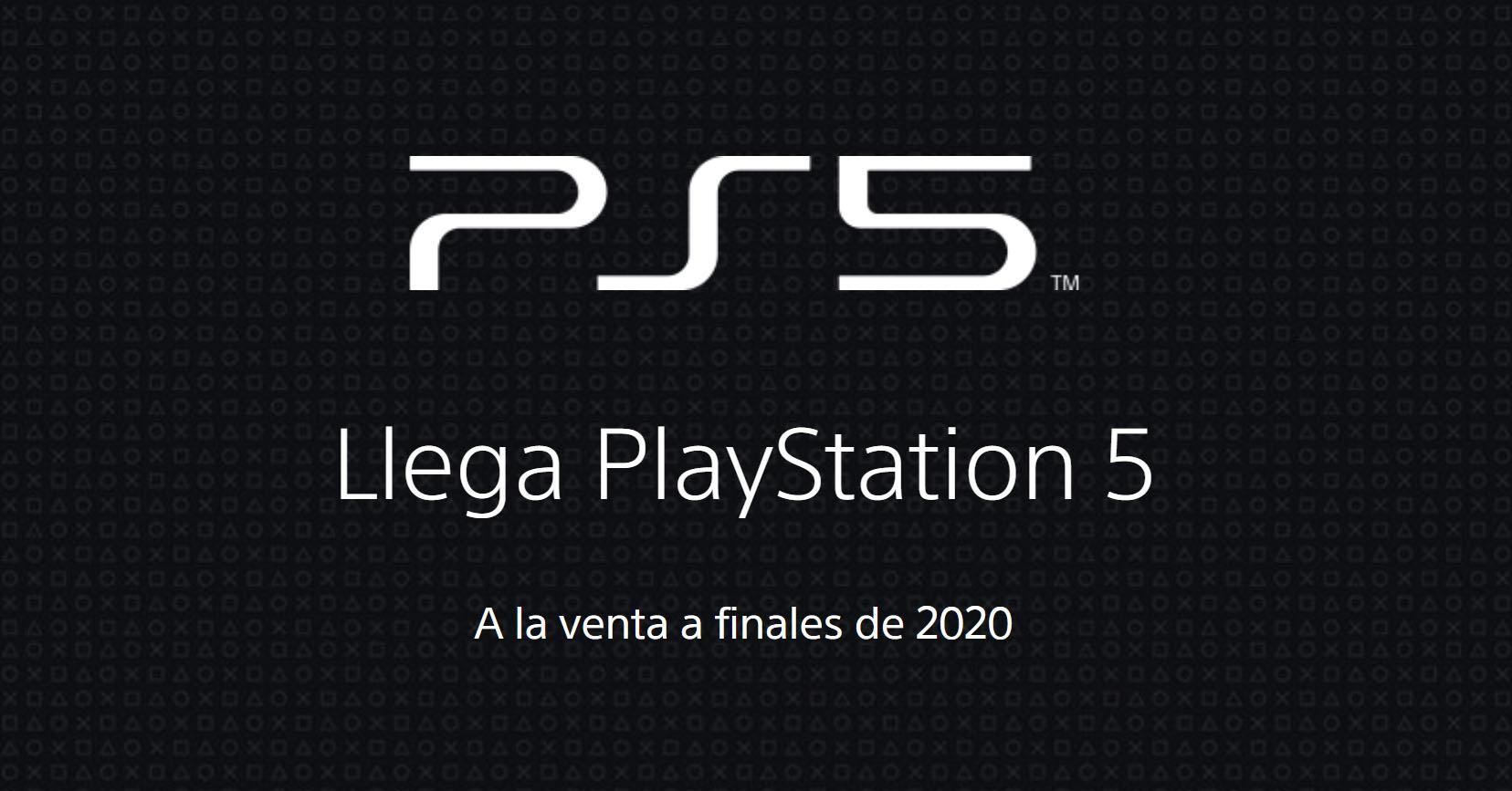 PS5 officiella webbplats