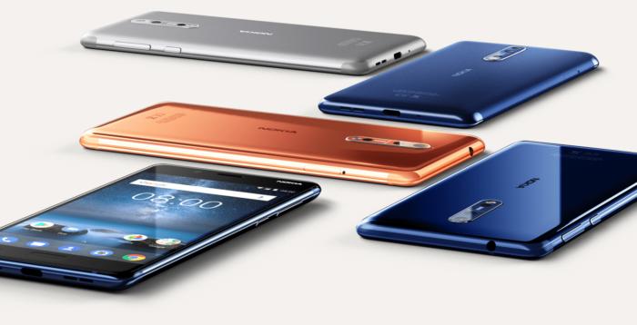 Nokia 8 modellnummer / varianter